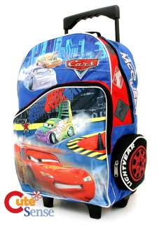 Cars McQueen School Roller backpack Rolling bag 2