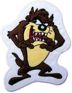 Comic & Cartoon Crazy TAZ EMBROIDERED PATCH
