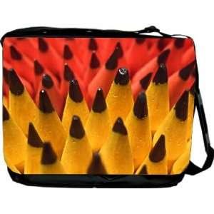 Rikki KnightTM Pencils Design Messenger Bag   Book Bag