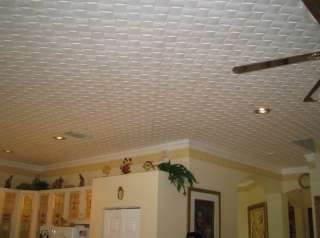 Tin Look Ceiling Tiles Easy Installation   R46W