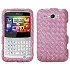 Crystal Diamond Bling Hard Case Cover for HTC Status 4G / ChaCha AT&T
