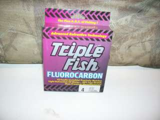 NEW 125 YARDS TRIPLE FISH ICE FISHING LINE 4#