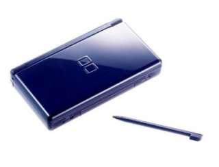 Nintendo DS Lite Enamel Navy Blue Shell Replacement Kit