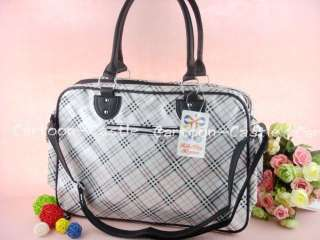 Hello Kitty Checkered Shopping Tote Shoulder Bag