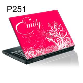 Personalised Laptop Skin Sticker Decal with YOUR NAME