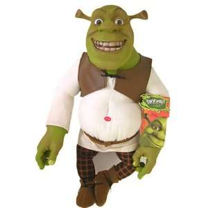 Shrek Stuffed Plush Doll  Spanish Sound Plush Toys