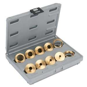 10 Piece Brass Router Bushing Set With Case Home