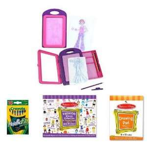 Deluxe Fashion Design Activity Kit Toys & Games