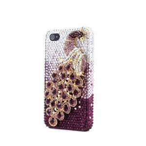 Full Crystal Diamond Hard Case Skin Cover for Iphone 4/4s Electronics