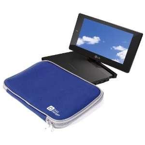 DURAGADGET Blue Water Resistant Portable DVD Player Case