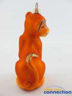 1000 Christopher RADKO SIGNED Lion King SIMBA 1999 Christmas Ornament
