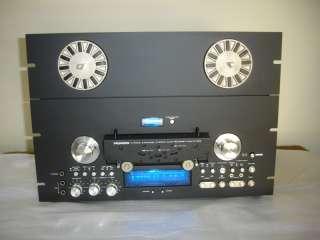 Pioneer RT 909 Reel To Reel tape recorder in black MINT with warranty