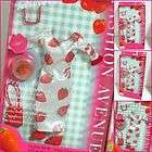 BARBIE Doll Fashion Avenue Strawberry Outfit Dress Set