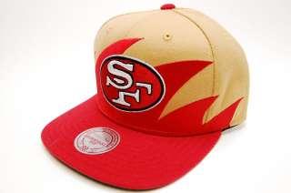 San Francisco 49ers Sharktooth M&N Snapback NFL Mens Cap