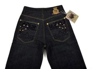ClotheSpace Mens Hip Hop Denim Loose Jeans HP03 W42