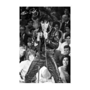 ELVIS PRESLEY 68 Comeback special Music Poster
