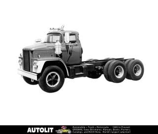 1962 Dodge COE Diesel Truck Factory Photo