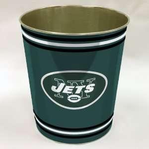 New York Jets NFL Metal Waste Paper Basket 11