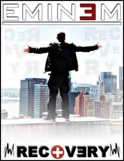 EMINEM RECOVERY V2 T SHIRT RELAPSE CD ALBUM SLIM SHADY