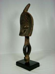 Superb African Tribal Art MAHONGWE Reliquary Figure Gabon w/Base No