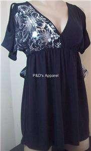 New Coqueta Maternity Womens Clothes Black Shirt Top Blouse S M L X