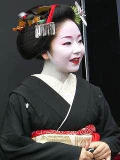 Vintage Japanese kanzashi geisha hair comb set white