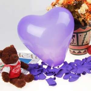Bag Heart Shaped Latex Balloons Wedding Party Decor Favors 12 Inch
