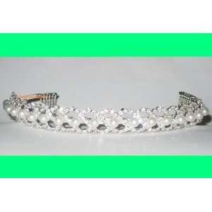 Bridal Bridesmaid Prom Tiara Crystal Rhinestone Wedding Veil 00009