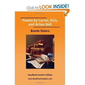 Poems by Currer, Ellis and Acton Bell (EasyRead Comfort