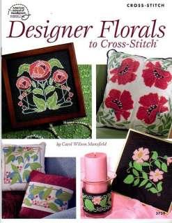 Designer Florals Cross Stitch Book
