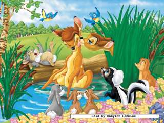 picture of Jumbo 100 pieces jigsaw puzzle Disney   Bambi (02136B)