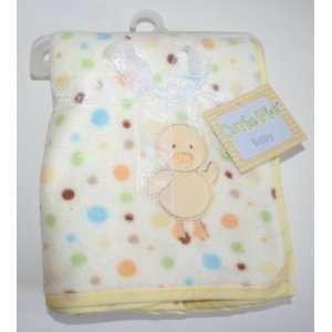 Cutie Pie Baby Blanket with Duck Baby