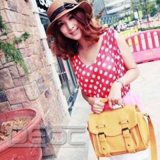 Satchel style Vintage Messenger bag Shoulder Bag Satchel Handbag
