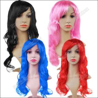 Wonderful Cosplay Party Long Wavy Curly Hair Wig/Wigs