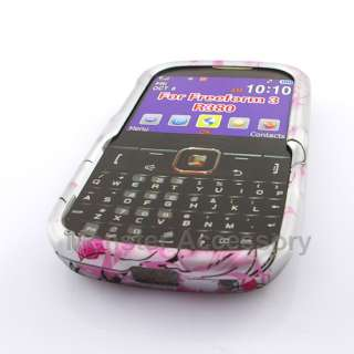 Pink Flowers Hard Case Snap On Cover Samsung Freeform 3