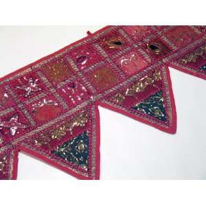 Pink Designer Decorative Valance Toran Door Decoration