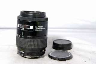 Nikon AF Nikkor 35 105mm f3.5 4.5 Lens zoom AI S AIS works only manual