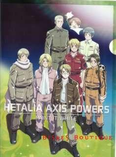 Hetalia Axis Powers World Series Russia UK clear file