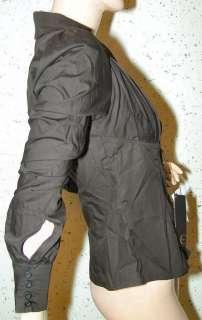 Roberto Cavalli Just Cavalli women black shirt V size M