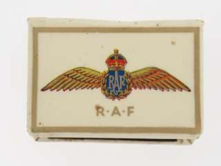 Great Britain. WWII Royal Air Force (RAF) Matchbox Cover.