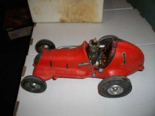 Original Cox Roy Champion Thimble Drome Race Car with Engine   Red