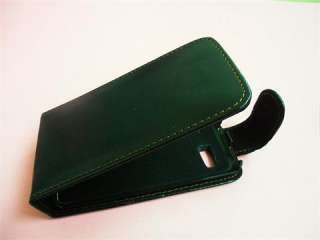 NEW leather pouch case for HTC desire Z BLACK