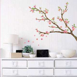 CHERRY BLOSSOMS VINYL WALL DECAL STICKER MURAL ART DECO