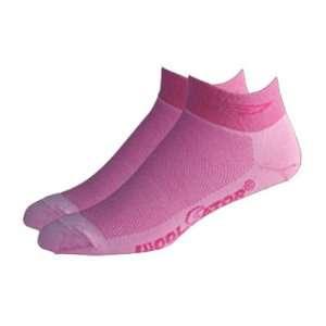 DeFeet Speede Pink Wooleator Cycling/Running Socks