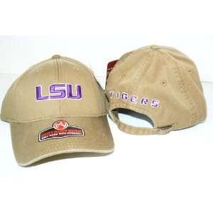 NCAA LSU Tigers Destructured Adjustable Baseball Hat