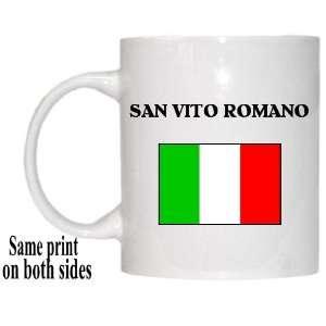 Italy   SAN VITO ROMANO Mug: Everything Else