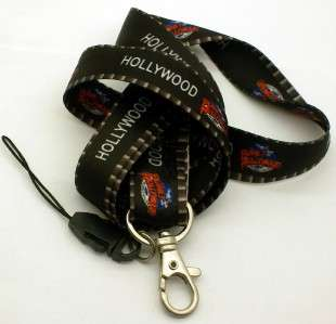 New Detachable Hollywood Lanyard keychain Strap