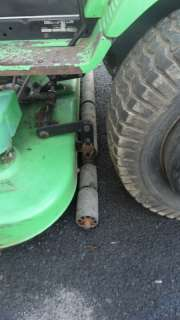 Deutz Allis Sigma 1817 Hydro Garden tractor (Simplicity) w/ deck and