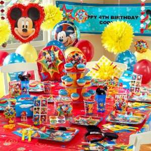 Disney Mickey Fun and Friends Ultimate Party Pack for 8 Toys & Games