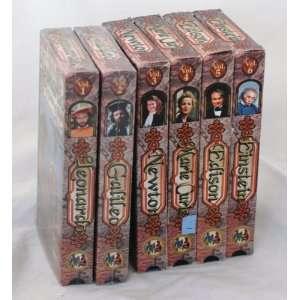INVENTORS SPECIALS VHS   Volume 1   6 VHS   Galileo